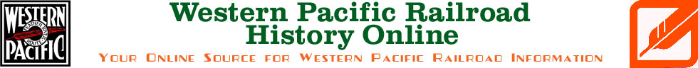 Western Pacific Railroad History Online Banner